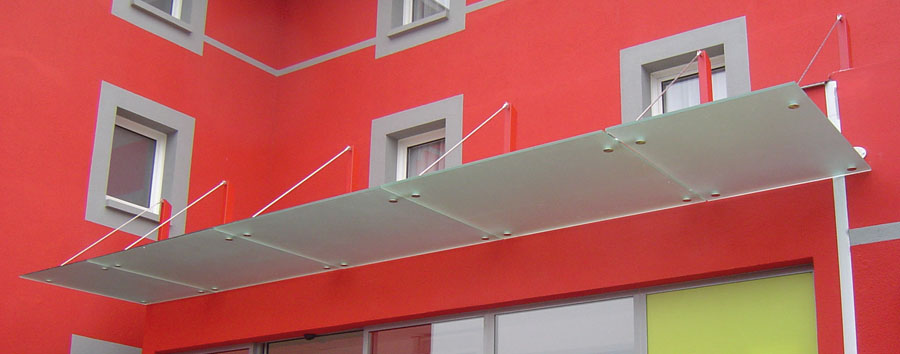 Plazza Glass Canopy System
