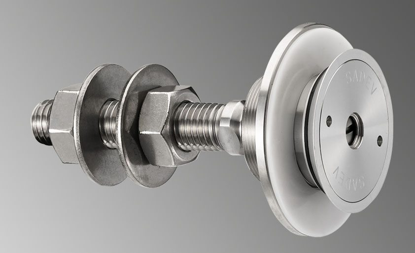 R 1008 Blind Glass Wall Swivel Fitting