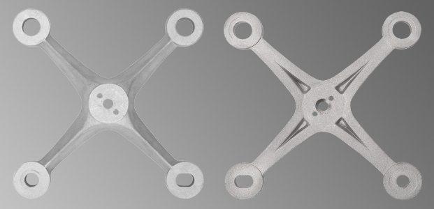 S 3007 Aluminium Casting Spider